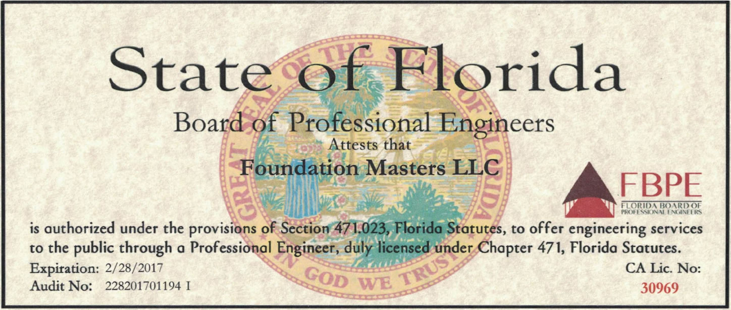 Foundation Contractor Sarasota