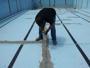 Gunite Pool Crack Repair