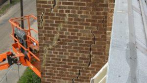 Commercial Building Crack Memphis
